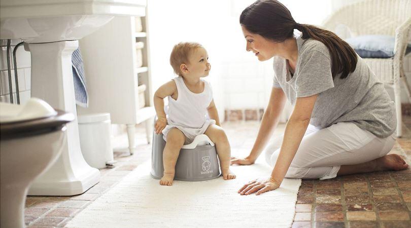 Как правильно приучать маленького ребенка к горшку