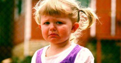 Истерики у трехлетнего ребенка