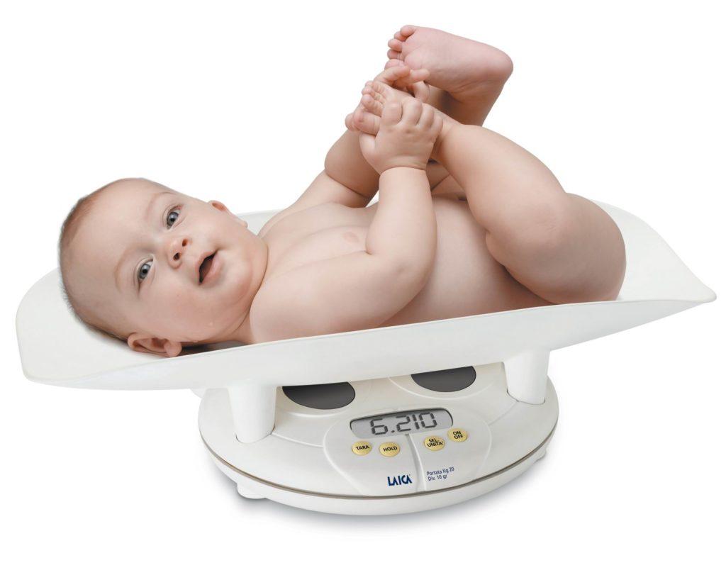 Рост и вес ребенка