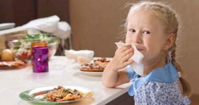 Хороши манеры, или главные правила этикета за столом для ребёнка