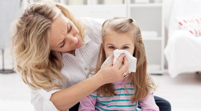 Аллергический бронхит у детей