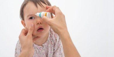 Детские глазные капли