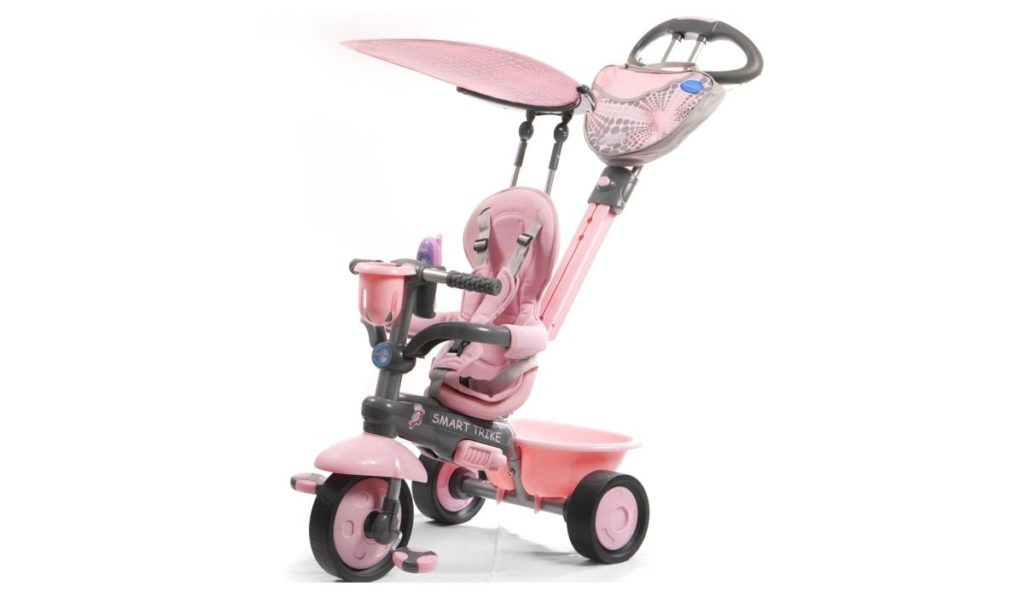 6 место. Smart Trike 1573500 Zoo-Collection