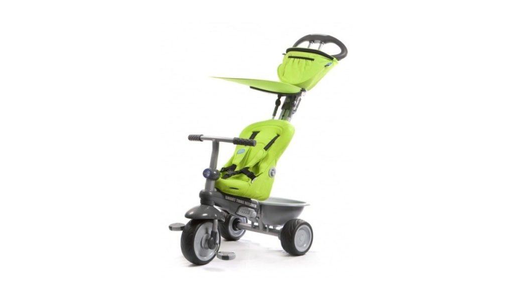 9 место. Smart Trike Recliner Stroller