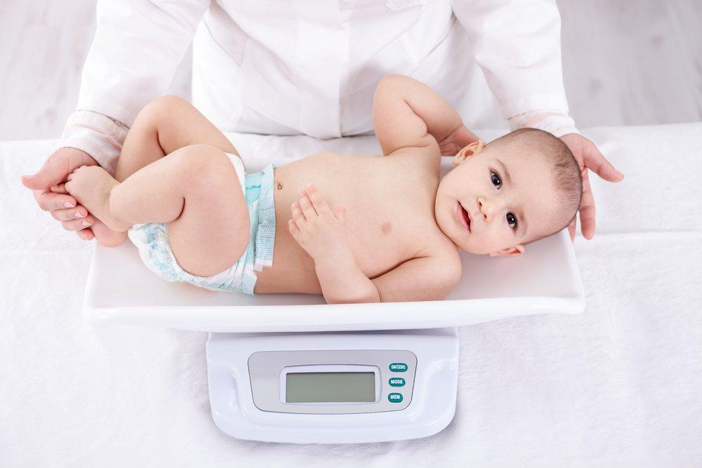 Рост и вес ребенка в 7 месяцев