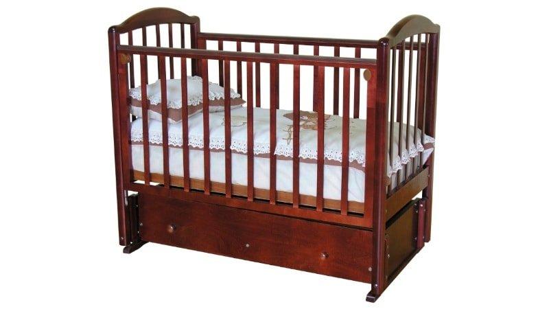 Кроватка для новорождённого «Ирина С-625»