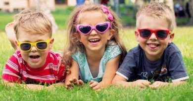 как выбрать солнцезащитные очки детям