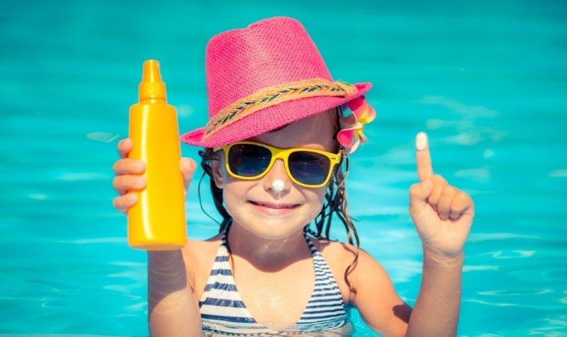 Солнцезащитное средство для детей