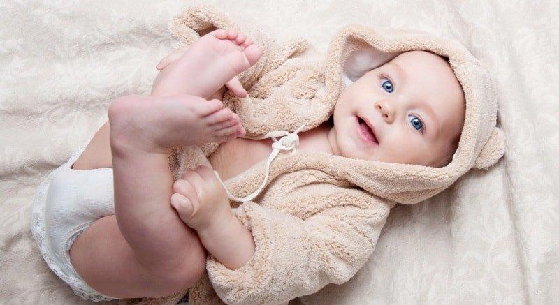 Правильный режим дня для младенца