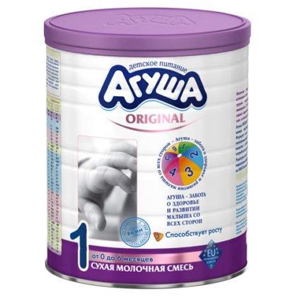 кисломолочная смесь агуша