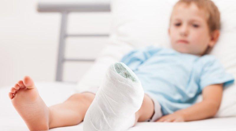 перелом ноги у ребенка