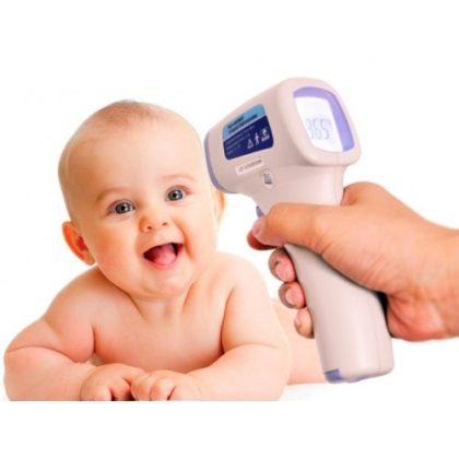 как измерить температуру новорожденному