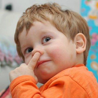 если ребенок засунул в нос предмет