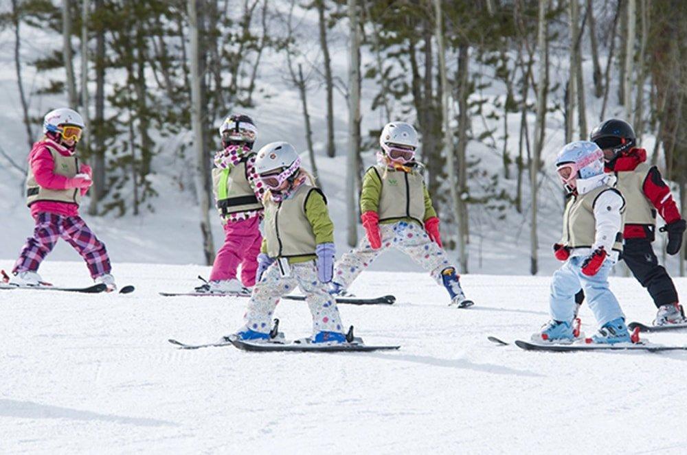 дети на сноубордах