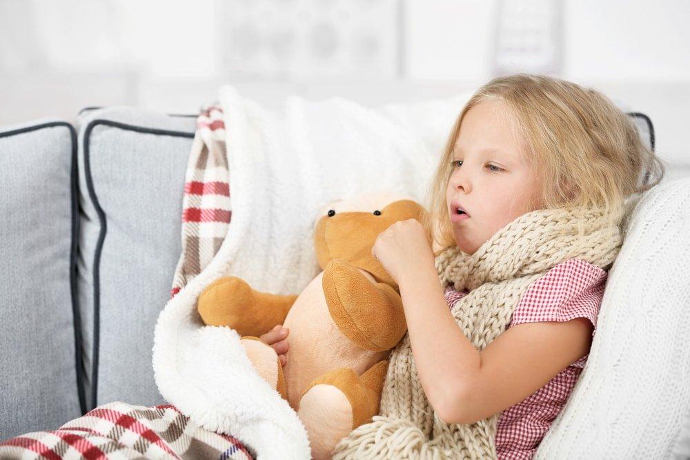 Основные причины появления кашля у детей