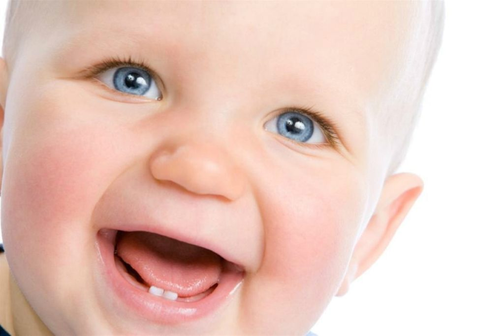 Прорезывании зубов у малыша