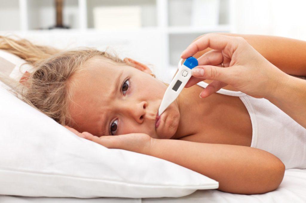 Почему у ребёнка понижена температура?