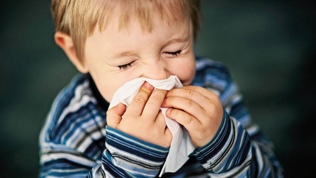 Капли для носа у детей