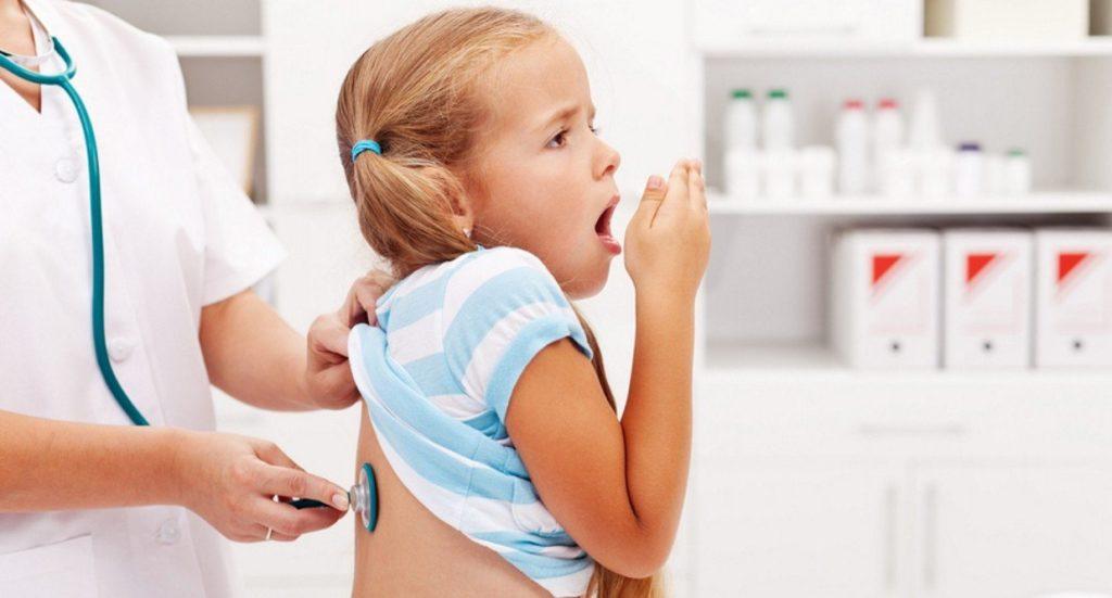 Массаж при кашле у детей