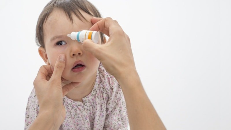 Профилактика конъюнктивита новорожденных в роддоме