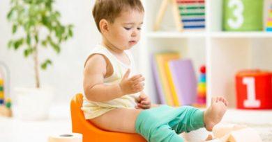 Приучение ребёнка к горшку