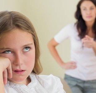Ребёнок игнорирует родителей