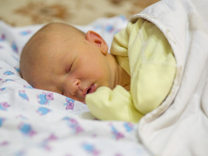 Кожные заболевания новорожденных