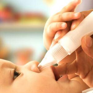 Насморк у ребенка 6 месяцев и его лечение