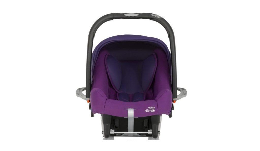 4 место. Britax Romer Baby-Safe Plus SHR II