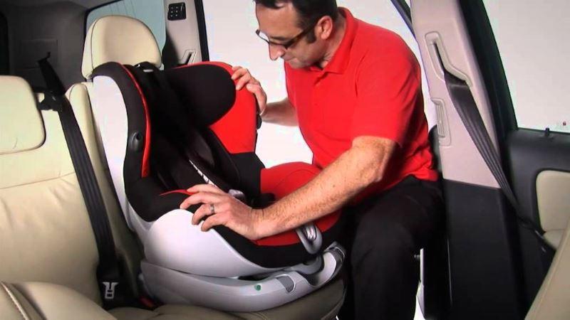 Вопрос безопасности автомобильного кресла