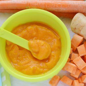 Морковное пюре для прикорма