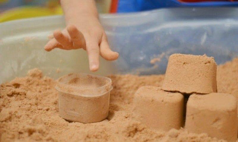 10 интересных игр с кинетическим песком