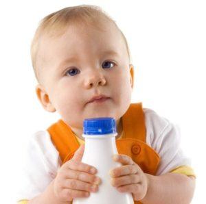 С какого возраста можно давать детский кефир