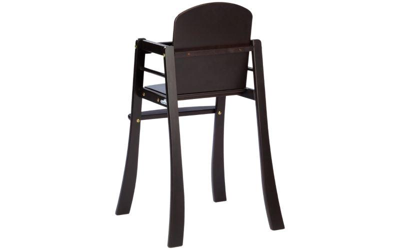 Классический высокий стульчик из дерева