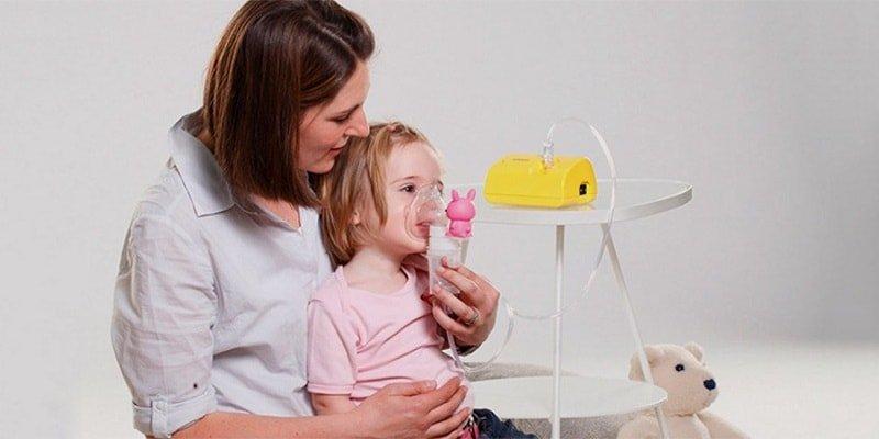 Как «подружить» ребёнка с небулайзером