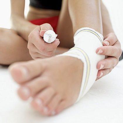 лечение ноги