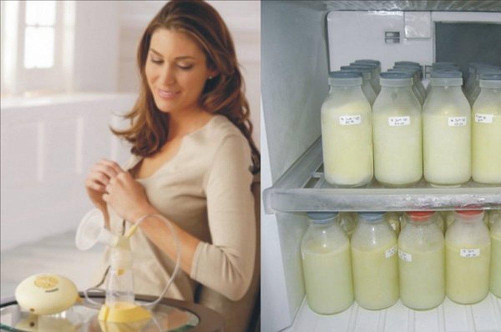 Сколько по времени хранится сцеженное грудное молоко