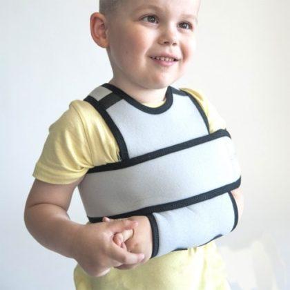 перелом со смещением руки у ребенка