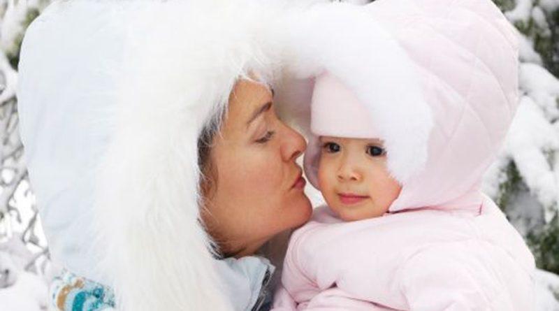 как одевать новорожденного ребенка зимой на прогулку