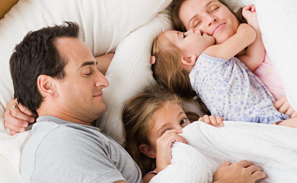 Совместный сон с детьми