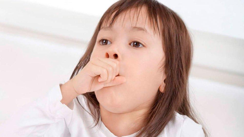 у месячного ребенка лающий кашель