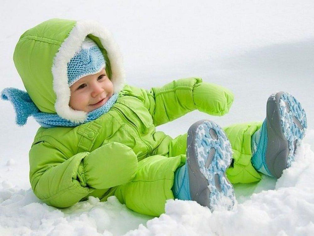 Зимний уход за детской кожей