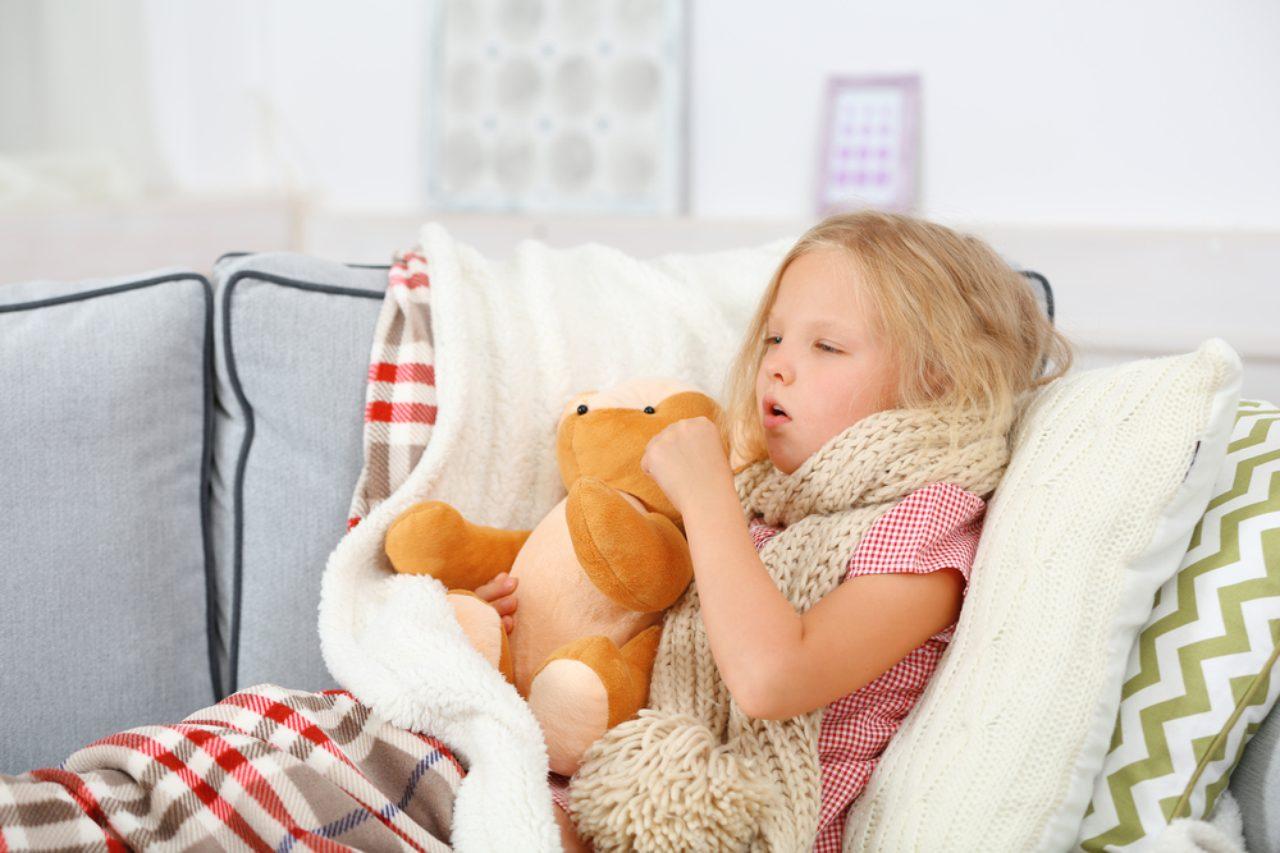 Сухой кашель у ребенка как определить