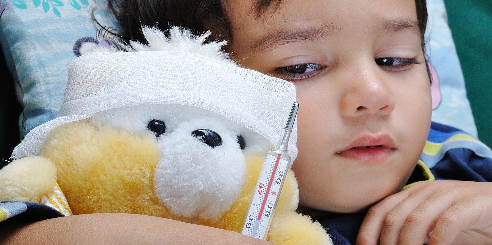 Признаки орз у детей 2 лет