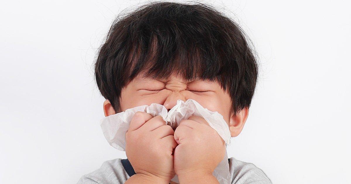Ринит у детей – симптомы и лечение