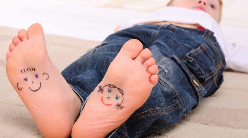 Плоскостопия у детей