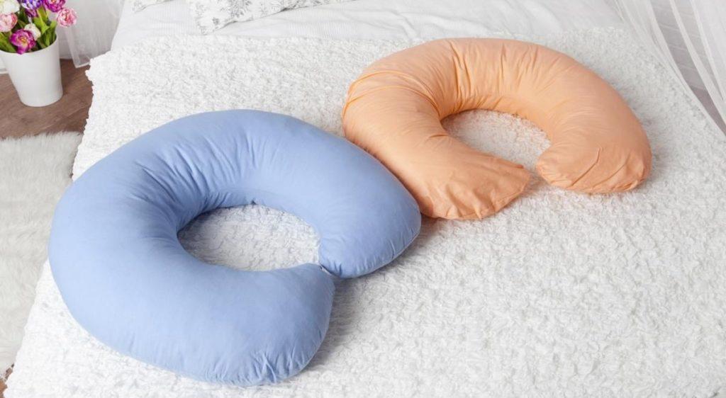 Форма подушки для кормления
