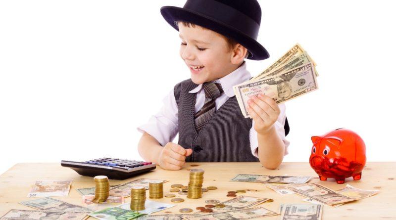 Карманные деньги для детей